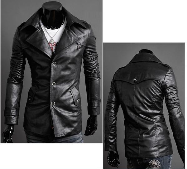 blouson cuir homme slim fit,blouson cuir vintage homme slim fit style  bikers fashion c0247b0cb4e