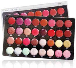 Lip Palettes Canada - Lips New Pro 32Color Lip Lips Gloss Lipsticks Makeup Palette Professional#6151