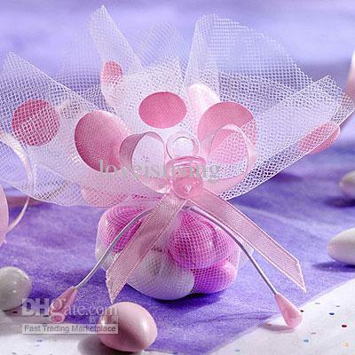 Livraison gratuite-500pcs Mini acrylique bébé sucette fête de naissance parti faveurs fournitures ~ charme mignon-gros