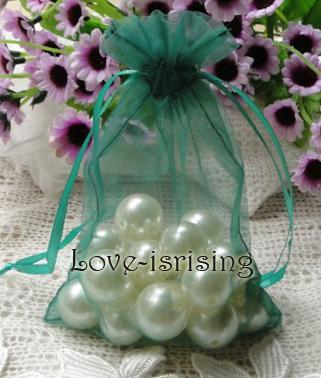 Gratis verzending-100st 10x15cm lavendel Sheer Organza Pouch bruiloft gunst Party Sieraden Gift / Candy Bag