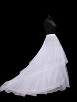 Wholesale Train Fashion Accessories - Hot sale Newest Gorgeous Wedding Gowns petticoat crinoline train Bridal Accessories petticoat Free shipping Fashion Ball Gown