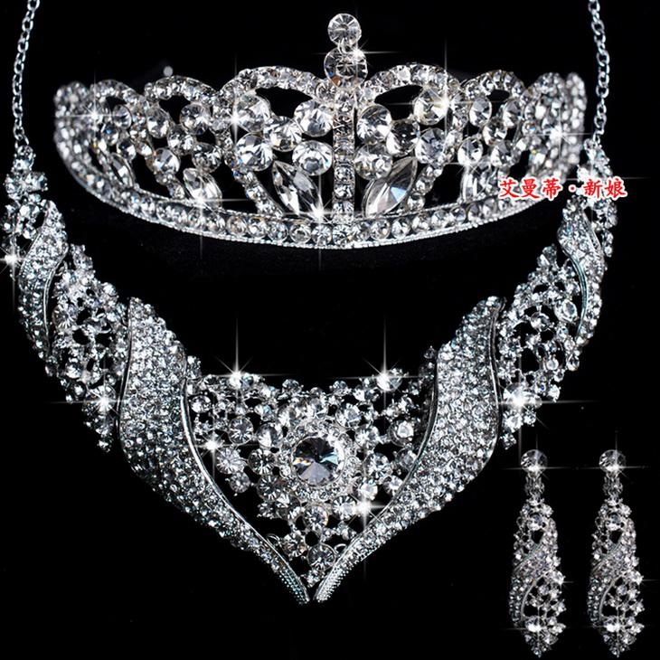 Best selling for wedding wedding jewelry set crystal necklaces best selling for wedding wedding jewelry set crystal necklaces earrings tiaras set mm001 crown bridal jewelry accessories pearl necklace wedding gowns from junglespirit Gallery