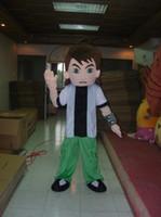Wholesale Ben Costume - adult ben 10 ben ten mascot costumes free shipping