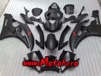 Wholesale injection yamaha r6 - Injection mold fairings for YZF R6 06-07 YZF-R6 YZFR6 YZF 600 YZF600 YZF R 6 06 07 2006 2007 black ABS fairing kit+gift