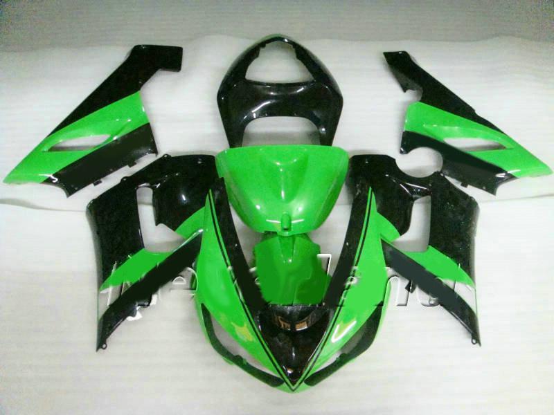 Injection fairing kit FOR Kawasaki Ninja ZX6R 636 05 06 ZX-6R 2005 2006 ZX 6R green black