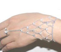 Wholesale Cost Silver Bracelet - Rhinestone Slave Bracelet Jewelry Cheaper price + Free Shipping Cost + Fast Delivery S1020