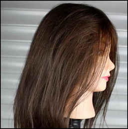 Wholesale Hair Styling Mannequins - Mannequin head practice mannequin hair mannequin 80% Human hair 50CM - 55CM Low price