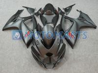 Wholesale Matte Black Fairings Gsxr - Matte Black Fairing kit for SUZUKI GSXR600 750 06 07 GSX-R600 GSXR 600 GSXR 750 K6 2006 2007 Fairings set
