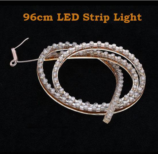 새로운 트럭 SMD 96 cm 96 LED 자동차 유연한 LED 스트립 조명 빛 5 색 선택 가능