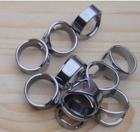 Creative Mini Portable 3 Storlekar Ölfingerflaskaöppnare Rostfritt Stål Metal Finger Thumb Ring Bar Pub Tool
