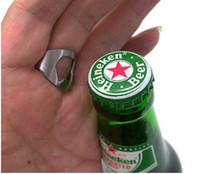 Wholesale mini beer bottle opener for sale - Group buy Creative Mini portable sizes Beer Finger Bottle Opener Stainless Steel Metal Finger Thumb RING Bar pub Tool