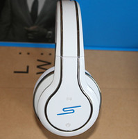Wholesale Dj Pro Sms - DHL SMS Audio Over-ear DJ Pro Wireless Headphones SYNC by 50 Cent Over Ear Headphone White Black