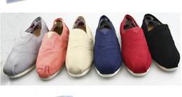 Unisex Ballet Flats Canada - NEW Men's Women's Classic Canvas casual Sequins flashing Lazy Flat ballet shoes shoe 10pairs lot