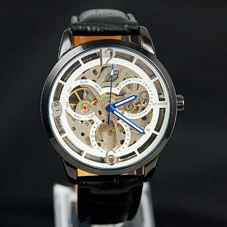 Marca ganadora reloj original para hombre cuero buceo automático automático mecánico diseñador deportivo relojes para hombre