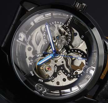 Kazanan marka orijinal İzle erkekler deri dalış lüks otomatik mekanik spor tasarımcısı mens saatler