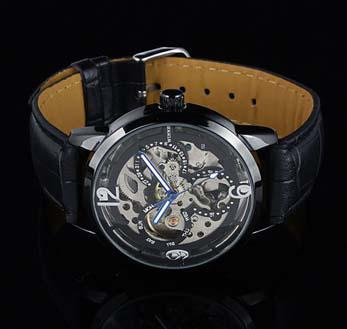 Vinnare varumärke Original Watch Men Läder Dyk Luxury Automatisk Mekanisk Sport Designer Mens Klockor