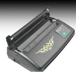 Wholesale Stencil Thermal Copier Machine - TATTOO THERMAL STENCIL TRANSFER MACHINE KITS WITH 10 Paper free gift free shipping arrive within 3~7 days ZY010+WS011-4