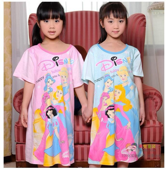 2012 Summer Dress Children's Sleepwear Nightgown Girls ...