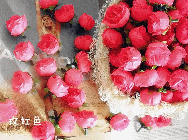 AMARELO 200 p 3 cm Simulação Artificial Camélia De Seda Rosa Flor Decorações Da Festa de Natal Do Casamento