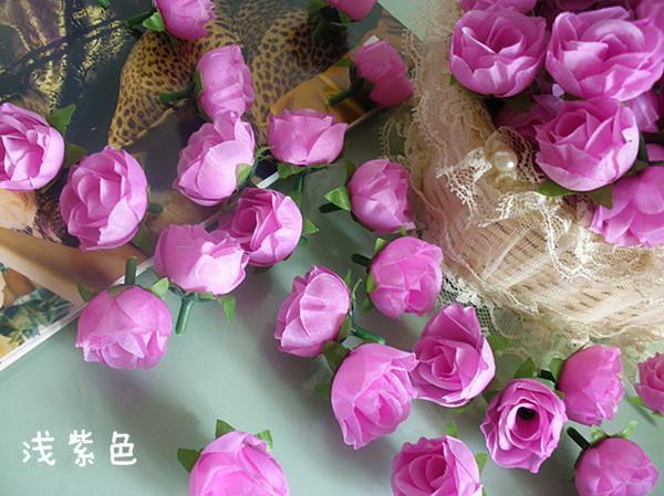 3cm 인공 시뮬레이션 장미 꽃 머리 실크 동백 장미 웨딩 크리스마스 파티 꽃 장식