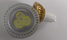 Wholesale Led Energy Saving Mr16 - 5pcs GU10 3W 3*1 LED Bulb Power Spot Light Energy Saving 110 220V Lamp & E27 MR16 E14