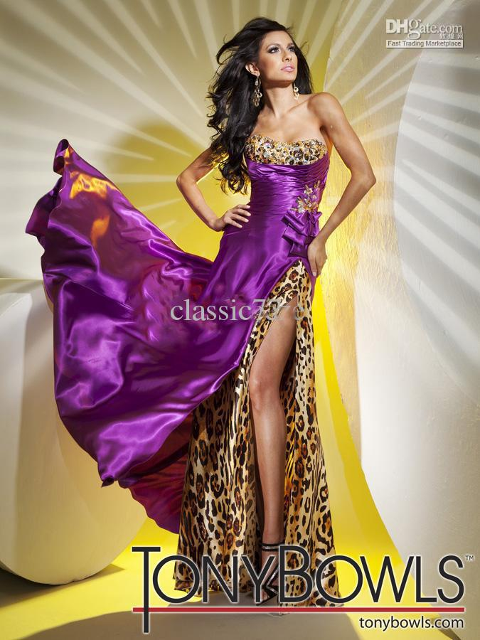 2012 Leopard Print Dress 112739 Formal Dress Prom Dress Evening Gown ...