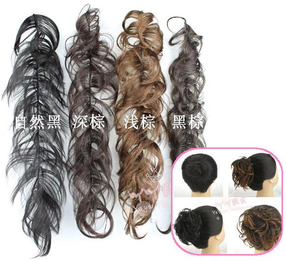 2018 updo bun hair piece extensions new woman chignon hairpiecse updo bun hair piece extensions new woman chignon hairpiecse scrunchies extension pmusecretfo Images