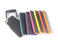 Wholesale Iphone 4s External Case - Rechargeable Power Backup External Battery Case 2000mAh For Phone4&4S With Retail Box 8 Colors