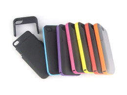 Wholesale Battery Case 4s - 2012 Hot Cell Phone Cases Battery Case Power Backup 2000mAh For Phone4&4S With Retail Box 5PCS Lot