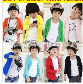 2012 New Baby Cardigan Kids Outerwear Candy Colored Cardigan Long ...