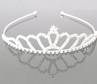 Wholesale Rhinestone Crown Jewelry Wholesale - jewelry rhinestones Hair hoop crown Headdress Manufacturer supply 6pcs Free Shipping S-HG920