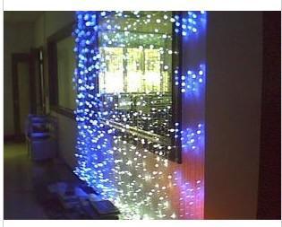Vakantielichten Bruiloft Back Ground Holiday Parties Lamp 3M * 3M 300 LED-gordijnlampen