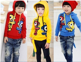 Wholesale Spring Sweaters Zippers - Autumn Boy's Clothing Cartoon cute dinosaur long sleeve children hoodies Sweater Boy Kids Outwears