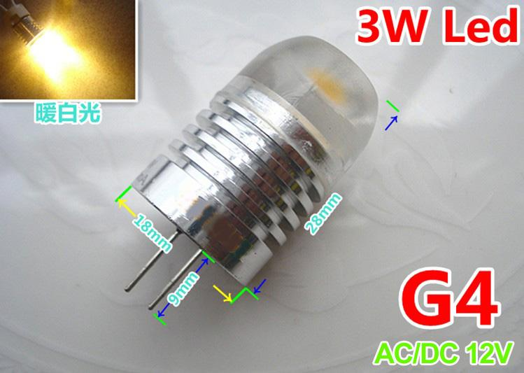 high quality g4 led high power 3w ac dc 12v led lamp bulb light led chandelier bulbs 9006 led. Black Bedroom Furniture Sets. Home Design Ideas