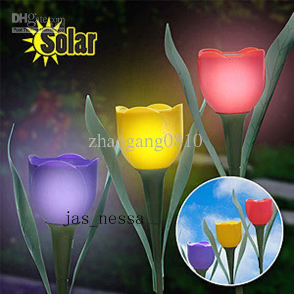 decorative solar lighting. 2018 Beautiful Solar Powered Garden Path Flower Light Lamp Yard Stake Decor Lawn From Zhaogang0810, $3.4 | Dhgate.Com Decorative Lighting O