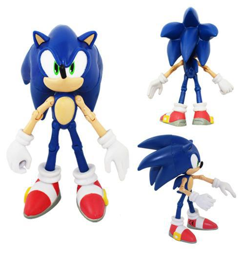 2019 Sonic The Hedgehog Action Figures Doll Toy Anime