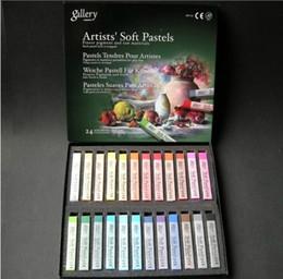 Wholesale Hair Chalk Rub Bugs - Free Shipping 24 Colors Set Hair Chalk Hair Color Dye Pastel Chalk Bug Rub Soft Fencai Bar