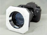 ingrosso macro di dslr-Luce continua ad anello macro 12 LED lampada video luce della lampada per DV DS DSLR fotocamera reflex