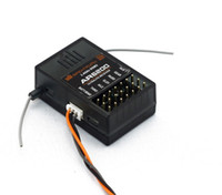 empfänger 6ch großhandel-5pcs / lot Spektrum AR6200 2.4G 6Ch Empfänger für DX6i JR DX7 DSM2 Freies Verschiffen