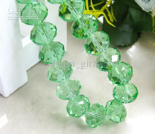 1000pcs * 4mm-12mm facetterad roundlle österrike kristall pärla charms lösa pärlor diy kristall pärlor