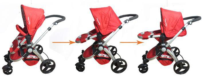 2017 Easy Baby Hello Baby Stroller Multi Function Trolley From ...