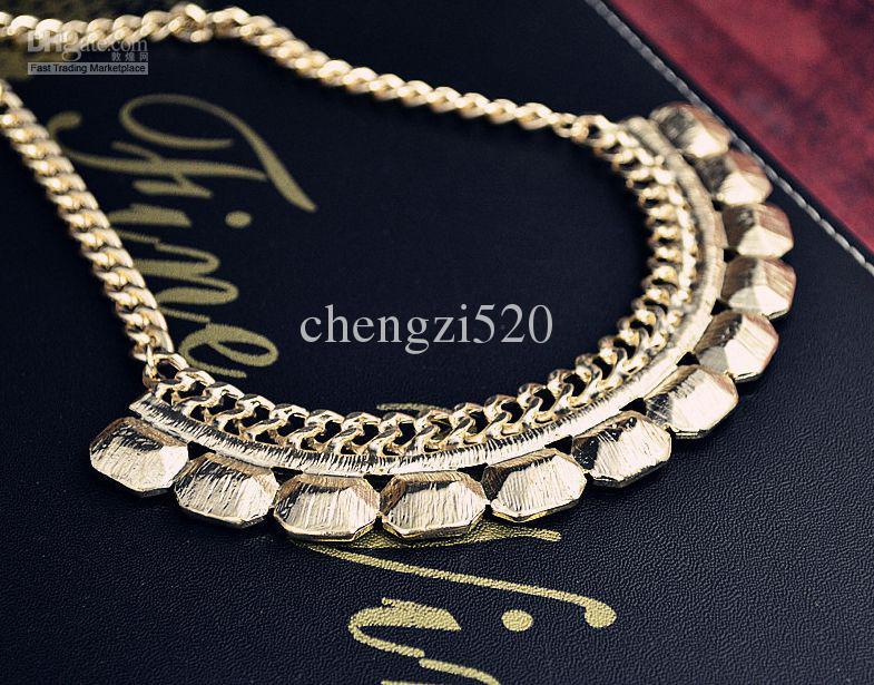 Vivi Halsbandhalsketten Luxus Diamant Halskette gewebt