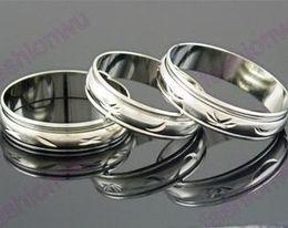 Bandas anulares on-line-100 pçs / lote MIX Tamanho 5 MM de Largura de Metal Cor Girar Arco de Cobre Anel de Transporte Anéis Anéis de Banda