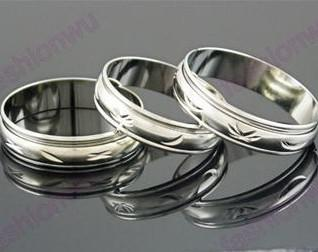 top popular 100pcs lot MIX Size 5MM Wide Metal Color Spin Spinning Arc Copper Transport Ring Rings Band Rings 2020
