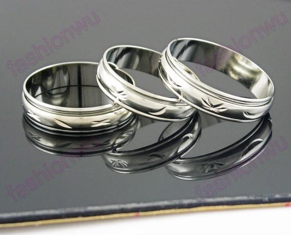 100 pçs / lote mistura tamanho 5mm de largura cor cor giro arco transporte de cobre anéis anéis anéis de banda