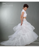 Wholesale Ivory Cathedral Petticoat - fast delivery!good design Court length petticoat PE002