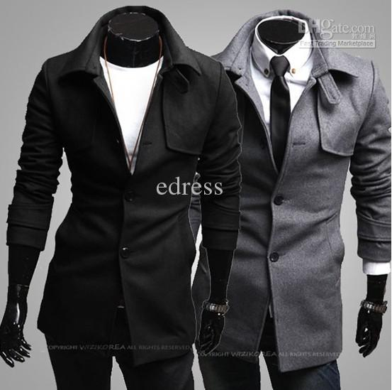 2018 2013 New Coats Men Outwear Mens Trench Coat Special Hoodie ...