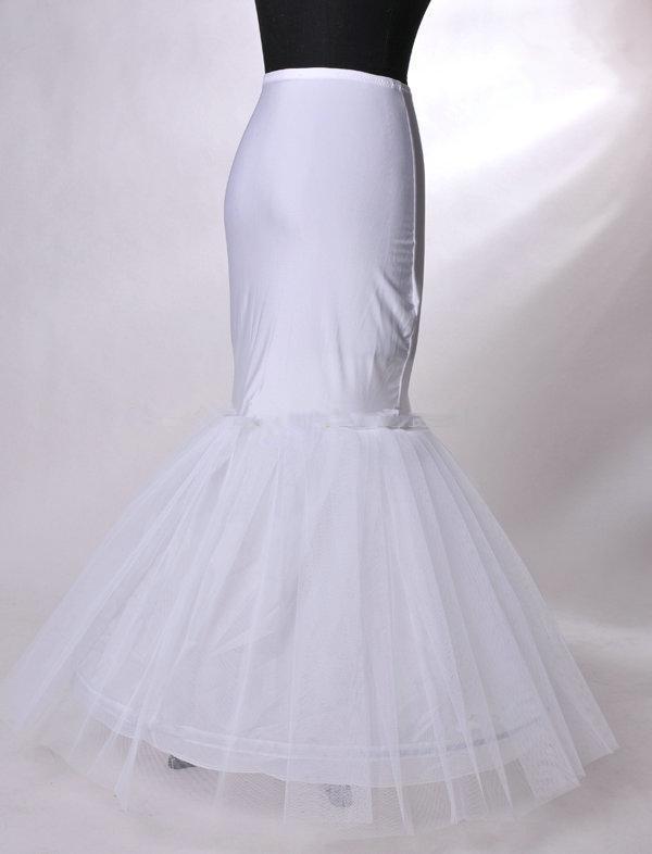 Entrega rápida! Estilo de sirena de alta calidad Buen diseño A-Line Petticoat PE008
