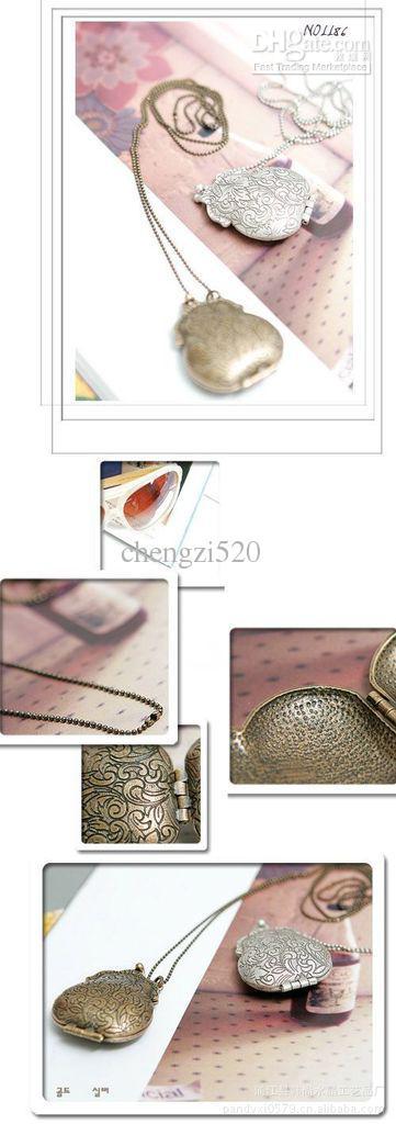 レトロな財布のネックレス宮殿の郷愁スタイル