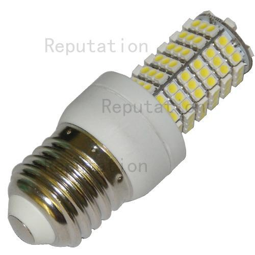 1pc E27 120 3528 SMD LED Screw Socket Home Spotlight Bulb Pure White for sample also wholesale